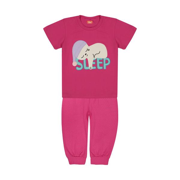 ست تی شرت و شلوار دخترانه مادر مدل 409-66