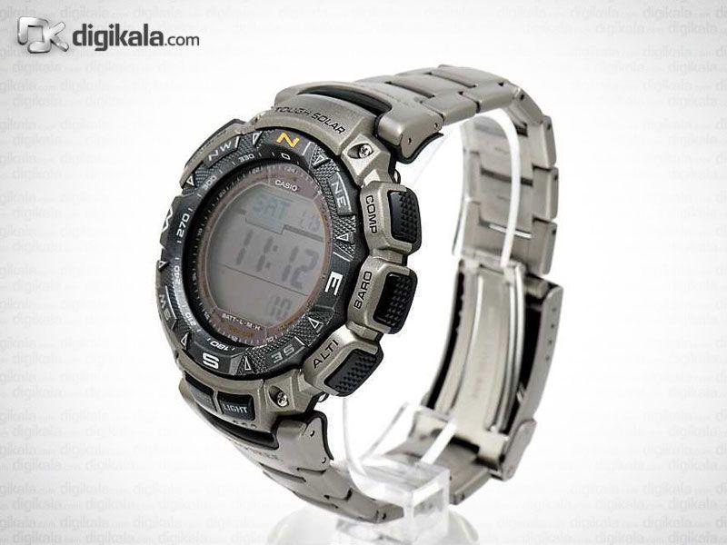 ساعت مچی دیجیتال مردانه کاسیو پرو ترک مدل PRG-240T-7DR  Casio Protrek PRG-240T-7DR Digital Watch F