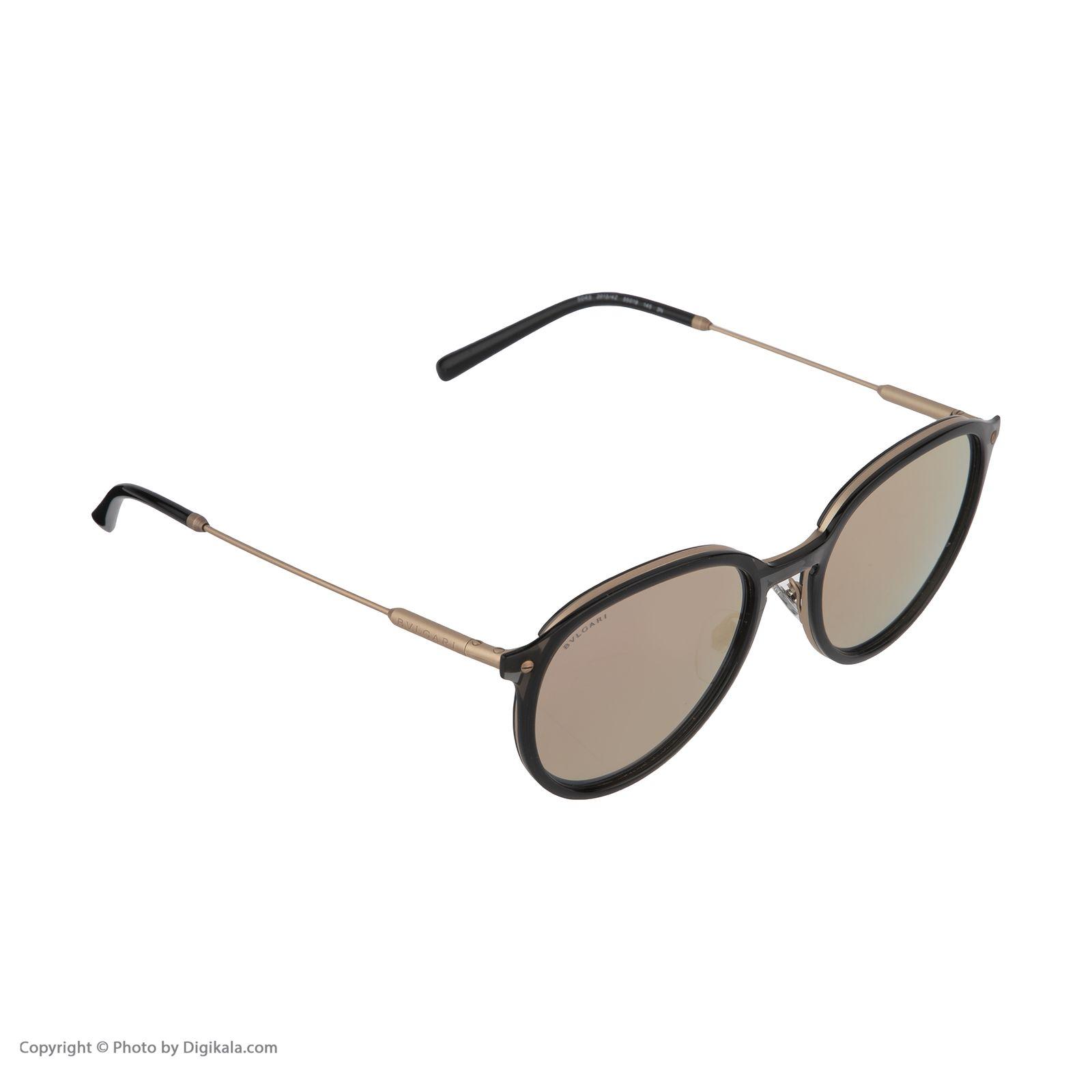 عینک آفتابی زنانه بولگاری مدل BV5045S 20134Z -  - 5