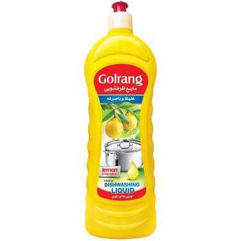مایع ظرفشویی گلرنگ مدل Lemon مقدار 1000 گرم