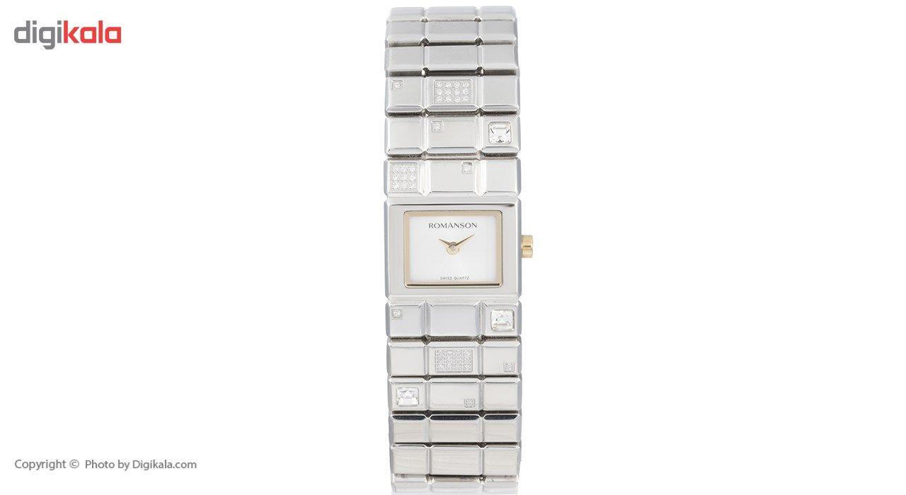 ساعت مچی عقربه ای زنانه رومانسون مدل RM0324QL1CAS1G -  - 2