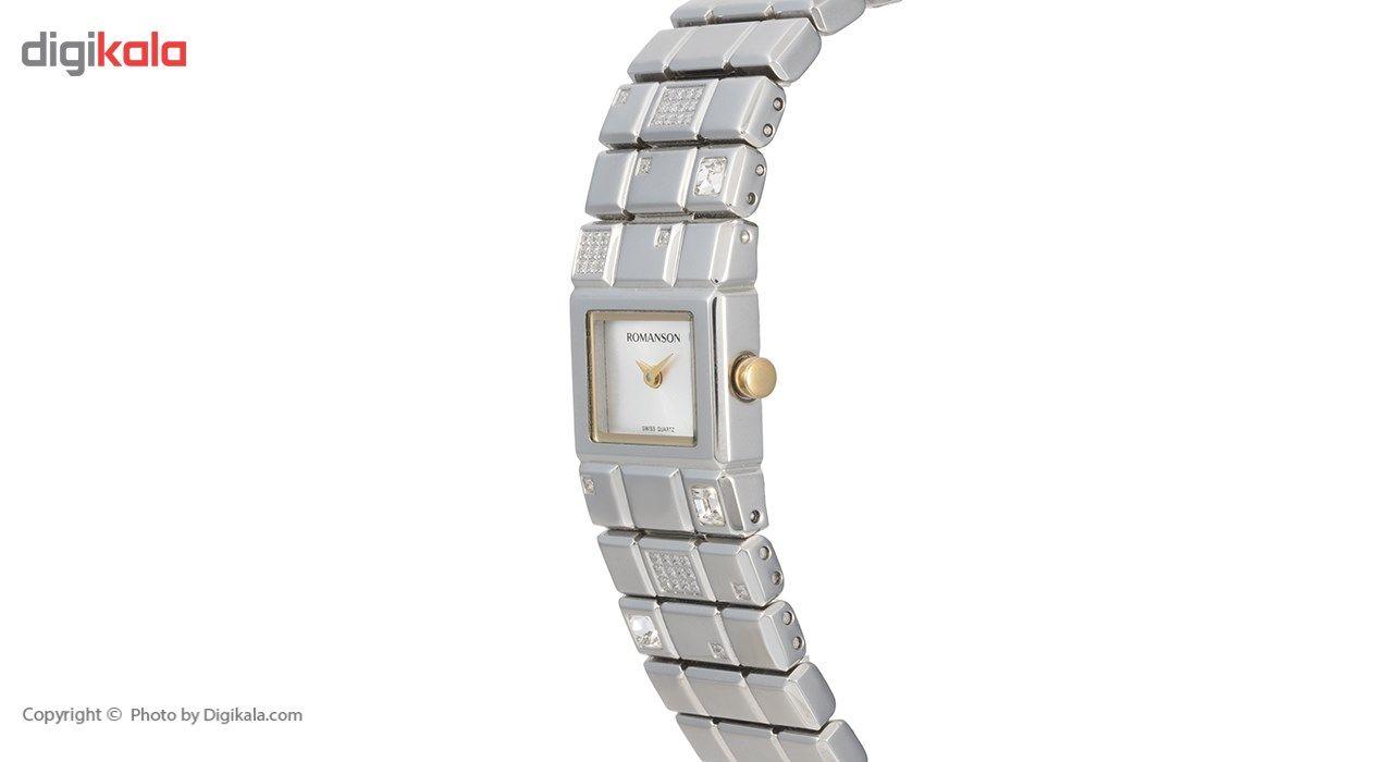 ساعت مچی عقربه ای زنانه رومانسون مدل RM0324QL1CAS1G -  - 4