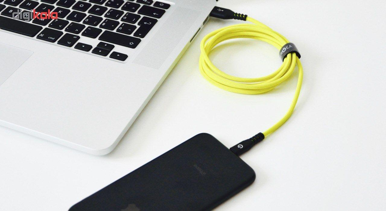 کابل تبدیل USB به لایتنینگ انرجیا مدل Alutough طول 1.5 متر main 1 8