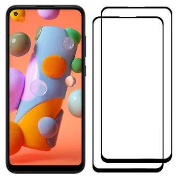 محافظ صفحه نمایش مدل FCG مناسب برای گوشی موبایل سامسونگ Galaxy A11 بسته دو عددی