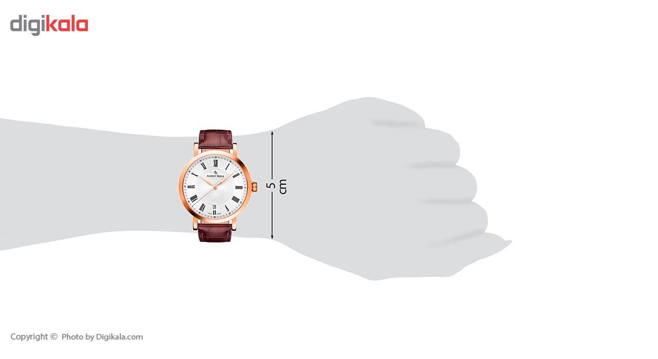 ساعت مچی عقربه ای آلبرت ریله مدل 219UQ02-SP33R-LN