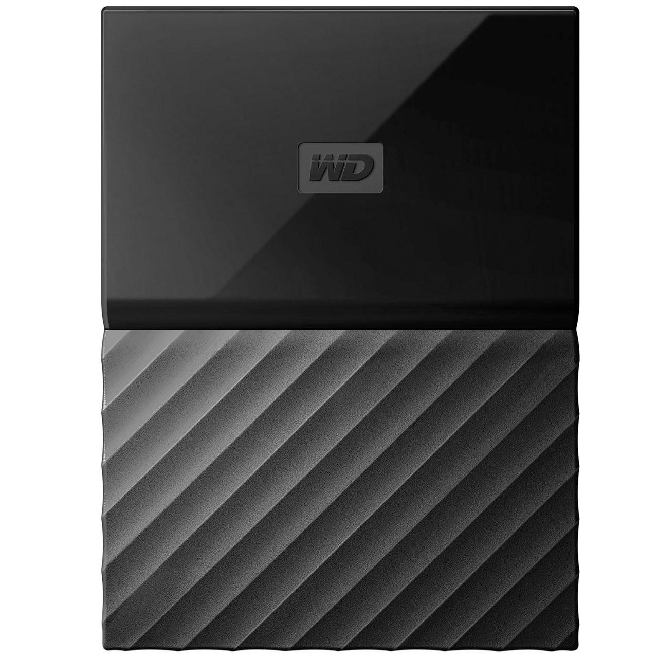 هارددیسک اکسترنال وسترن دیجیتال مدل My Passport WDBYFT0040B ظرفیت 4 ترابایت | Western Digital My Passport WDBYFT0040B External Hard Drive - 4TB