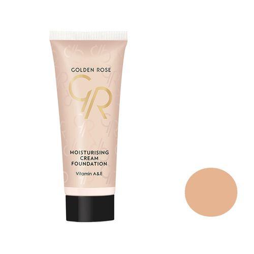 کرم پودر گلدن رز مدل moisturizing cream شماره 09 حجم 35 میلی لیتر