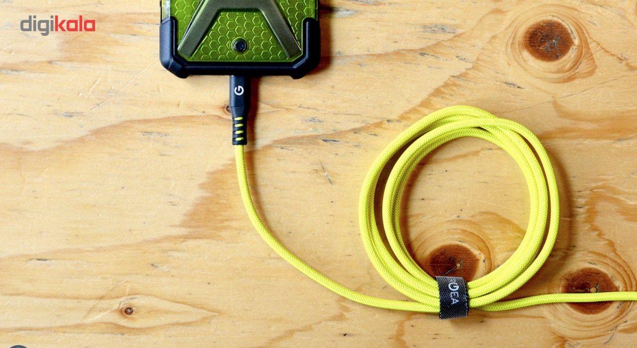 کابل تبدیل USB به لایتنینگ انرجیا مدل Alutough طول 1.5 متر main 1 16