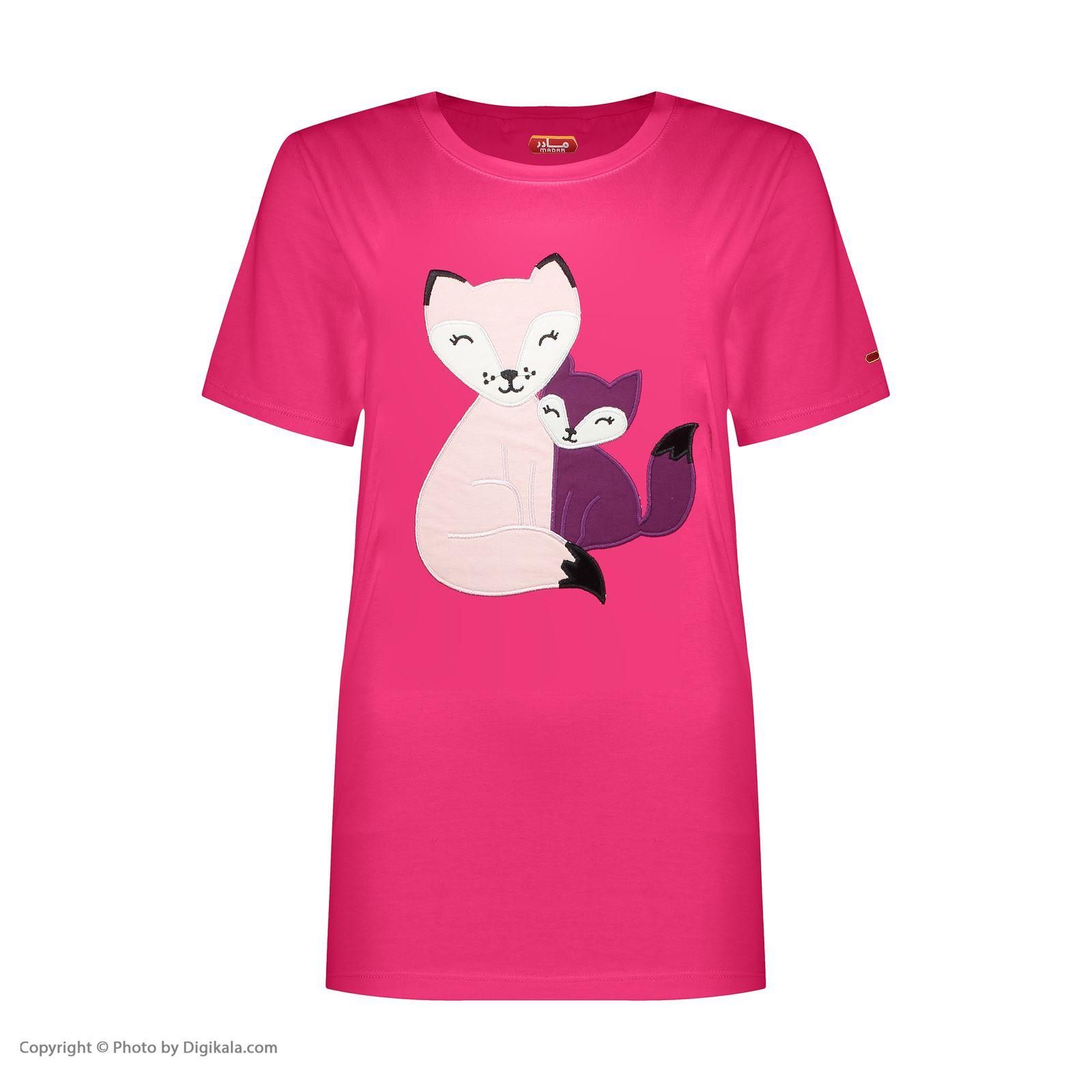 ست تی شرت و شلوار زنانه مادر مدل Billie410-66 -  - 4