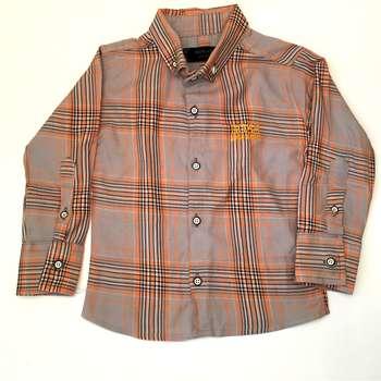 پیراهن پسرانه مدل چهارخانه کد 210