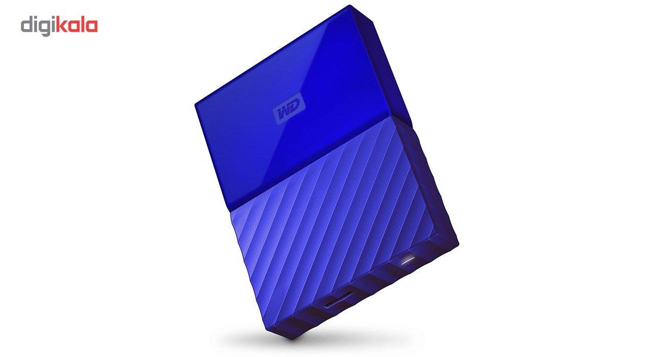 هارددیسک اکسترنال وسترن دیجیتال مدل My Passport WDBYFT0040B ظرفیت 4 ترابایت main 1 9