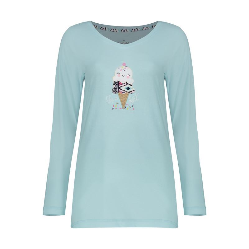 ست تی شرت و شلوار راحتی زنانه ناربن مدل 1521265-51