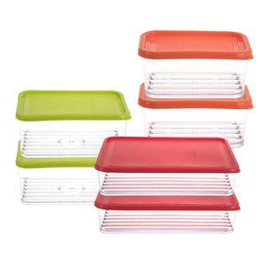 ظروف نگهدارنده 10 تکه رویچن مدل Crystal Kankan