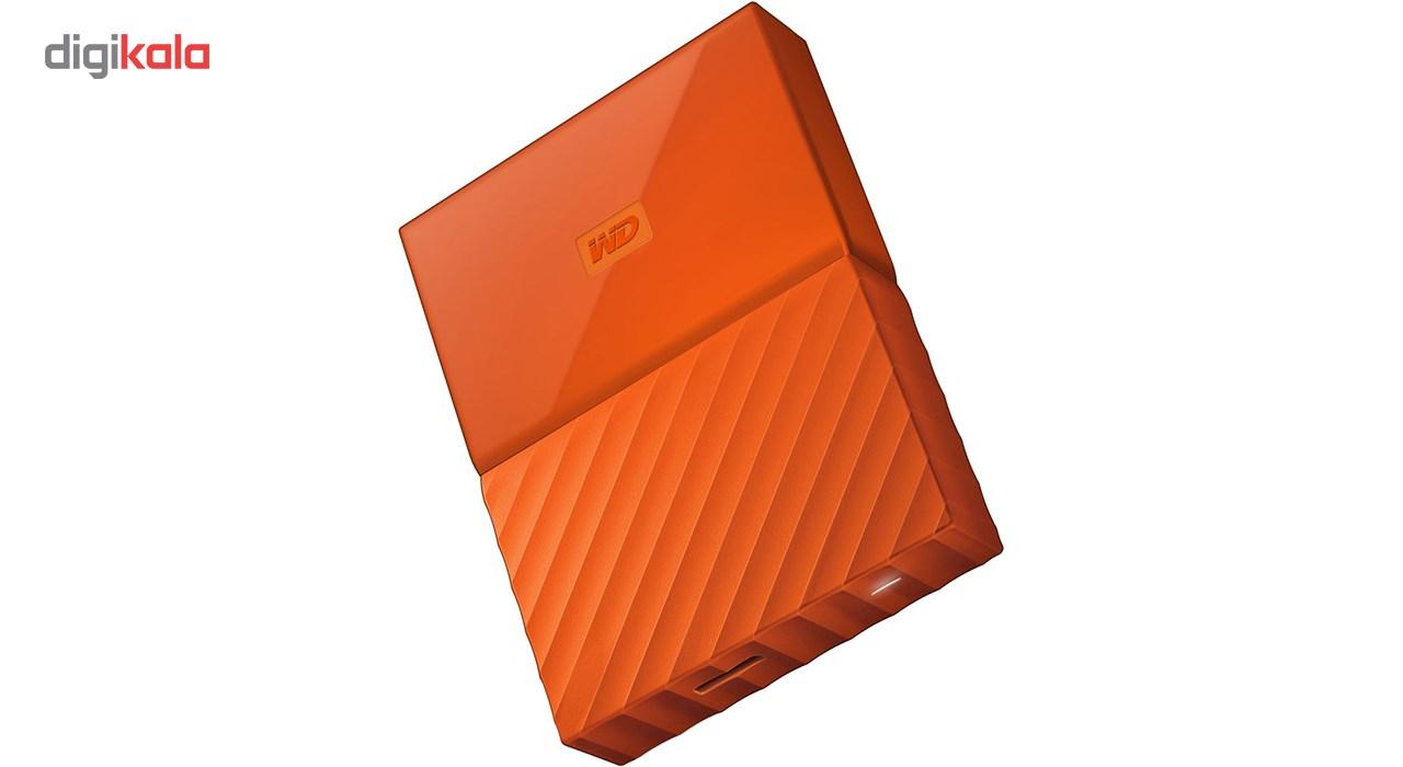 هارددیسک اکسترنال وسترن دیجیتال مدل My Passport WDBYFT0040B ظرفیت 4 ترابایت main 1 12