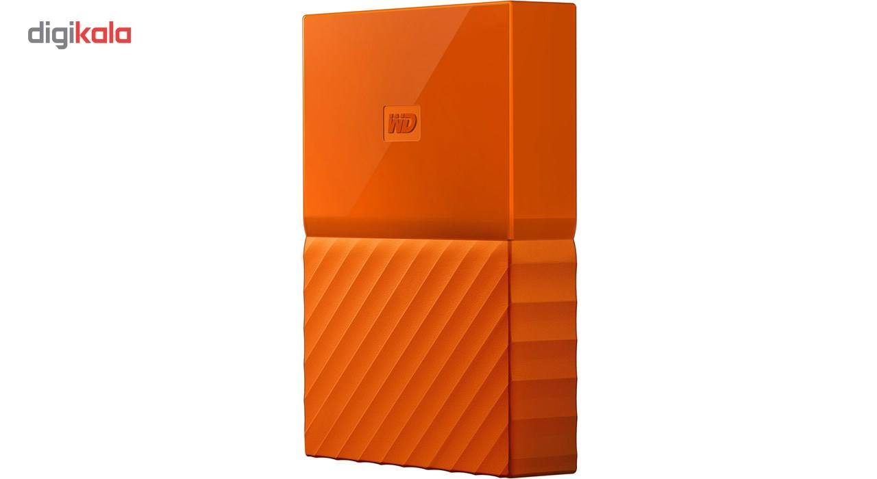 هارددیسک اکسترنال وسترن دیجیتال مدل My Passport WDBYFT0040B ظرفیت 4 ترابایت main 1 13