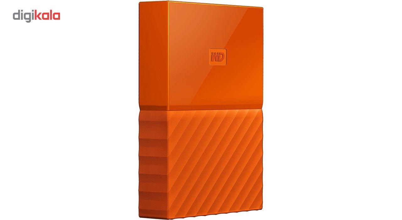 هارددیسک اکسترنال وسترن دیجیتال مدل My Passport WDBYFT0040B ظرفیت 4 ترابایت main 1 14