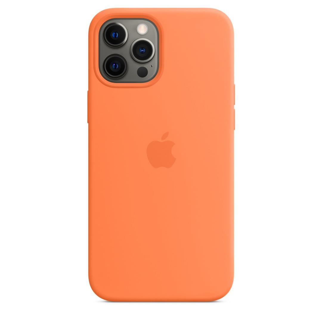 قاب مدل سیلیکونی مناسب برای گوشی موبایل اپل iphone ۱۲ Pro Max                     غیر اصل