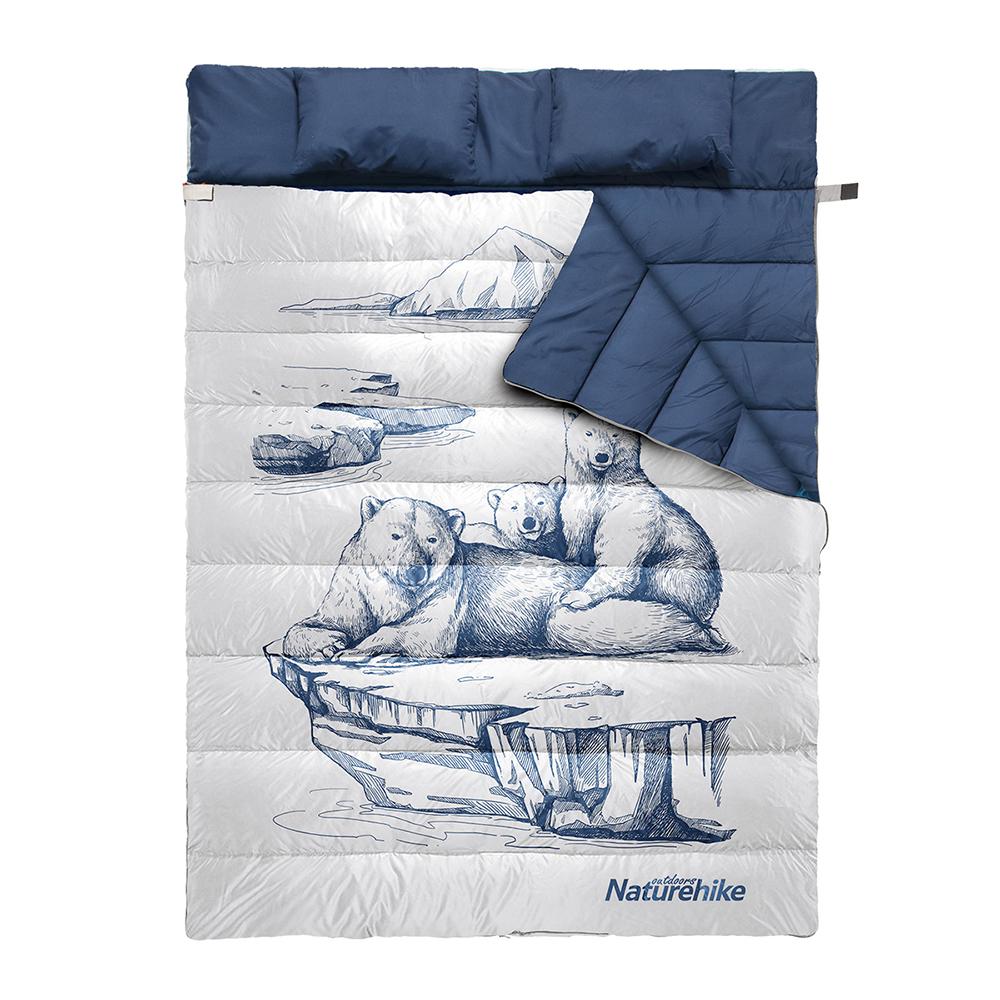 کیسه خواب دونفره نیچرهایک مدل NH19S016