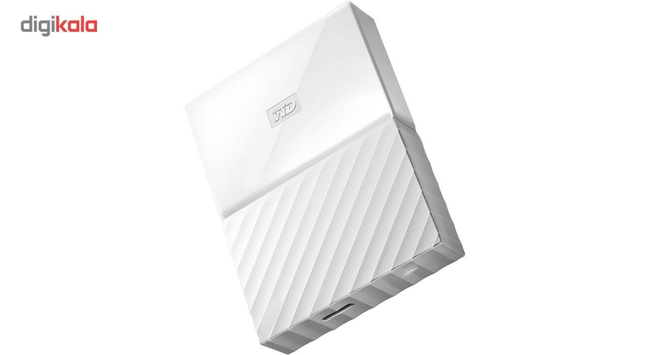 هارددیسک اکسترنال وسترن دیجیتال مدل My Passport WDBYFT0040B ظرفیت 4 ترابایت main 1 18