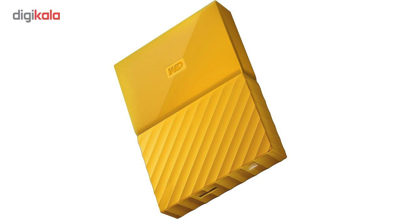 هارددیسک اکسترنال وسترن دیجیتال مدل My Passport WDBYFT0040B ظرفیت 4 ترابایت main 1 21