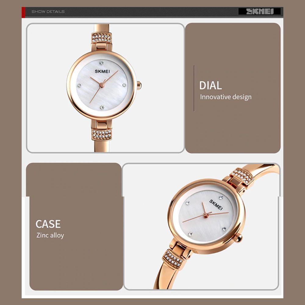 ساعت مچی عقربه ای زنانه اسکمی مدل 1409RG-NP -  - 7