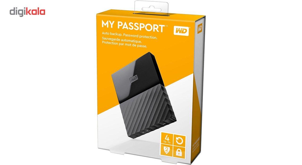 هارددیسک اکسترنال وسترن دیجیتال مدل My Passport WDBYFT0040B ظرفیت 4 ترابایت main 1 26