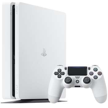 کنسول بازی سونی مدل Playstation 4 Slim Glacier White کد CUH-2116A ریجن 2 - ظرفیت 500 گیگابایت