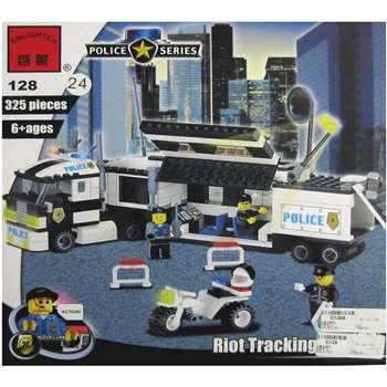 لگو پلیس انلایتن مدل 128 تعداد 325 قطعه