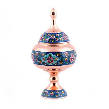 شکلات خوری آرا هنر فاخر ایرانی مدل مس و پرداز