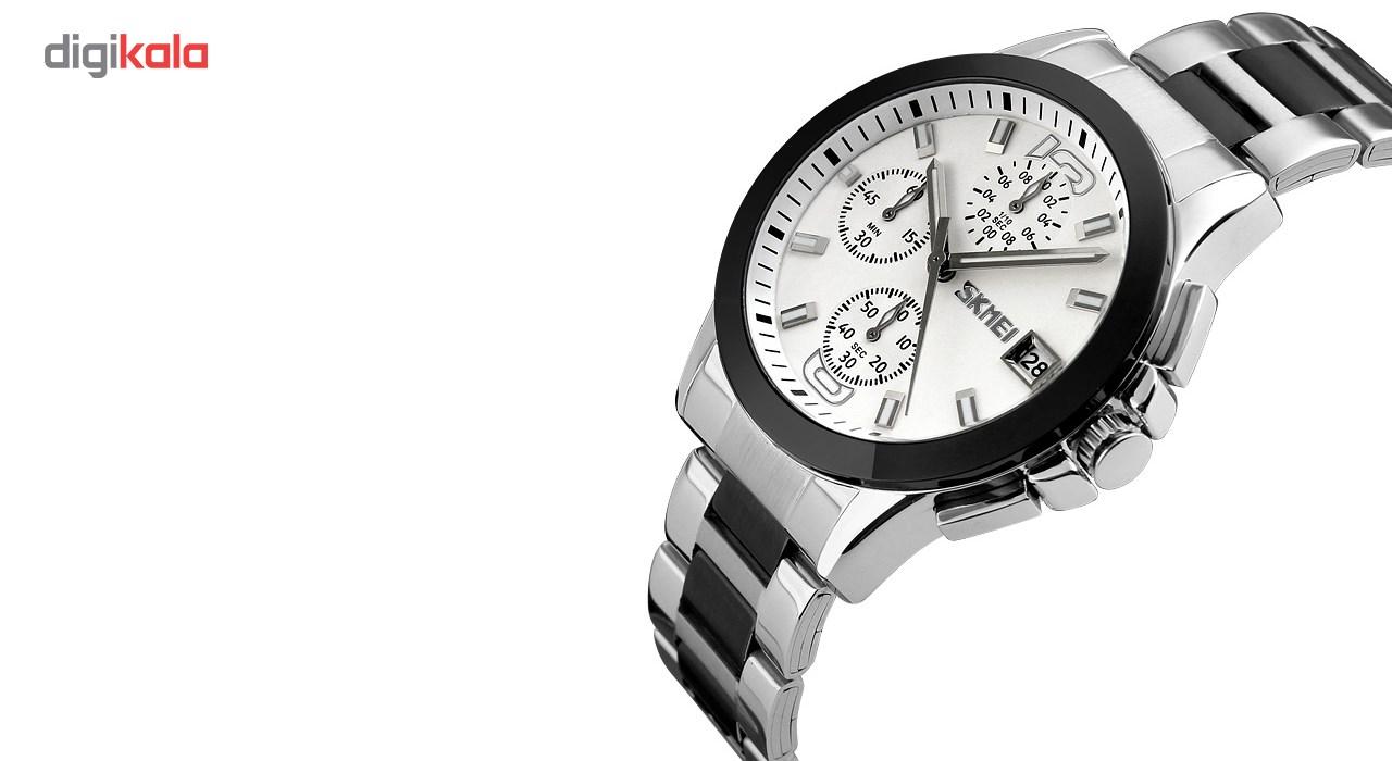 خرید ساعت مچی عقربه ای مردانه  اسکمی مدل9126  کد 01