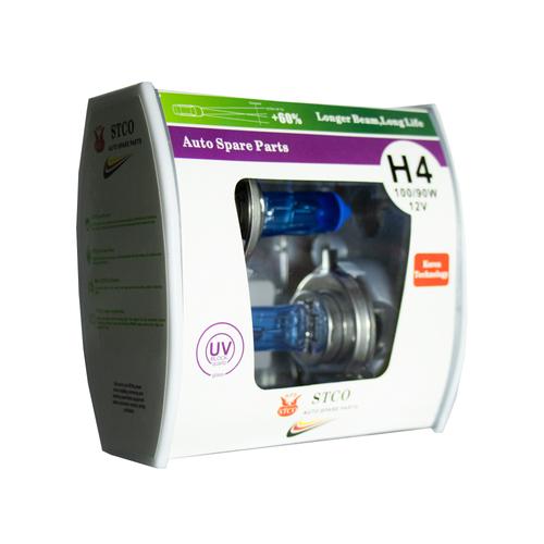 لامپ هالوژن خودرو استیکو  مدل H4 بسته دو عددی