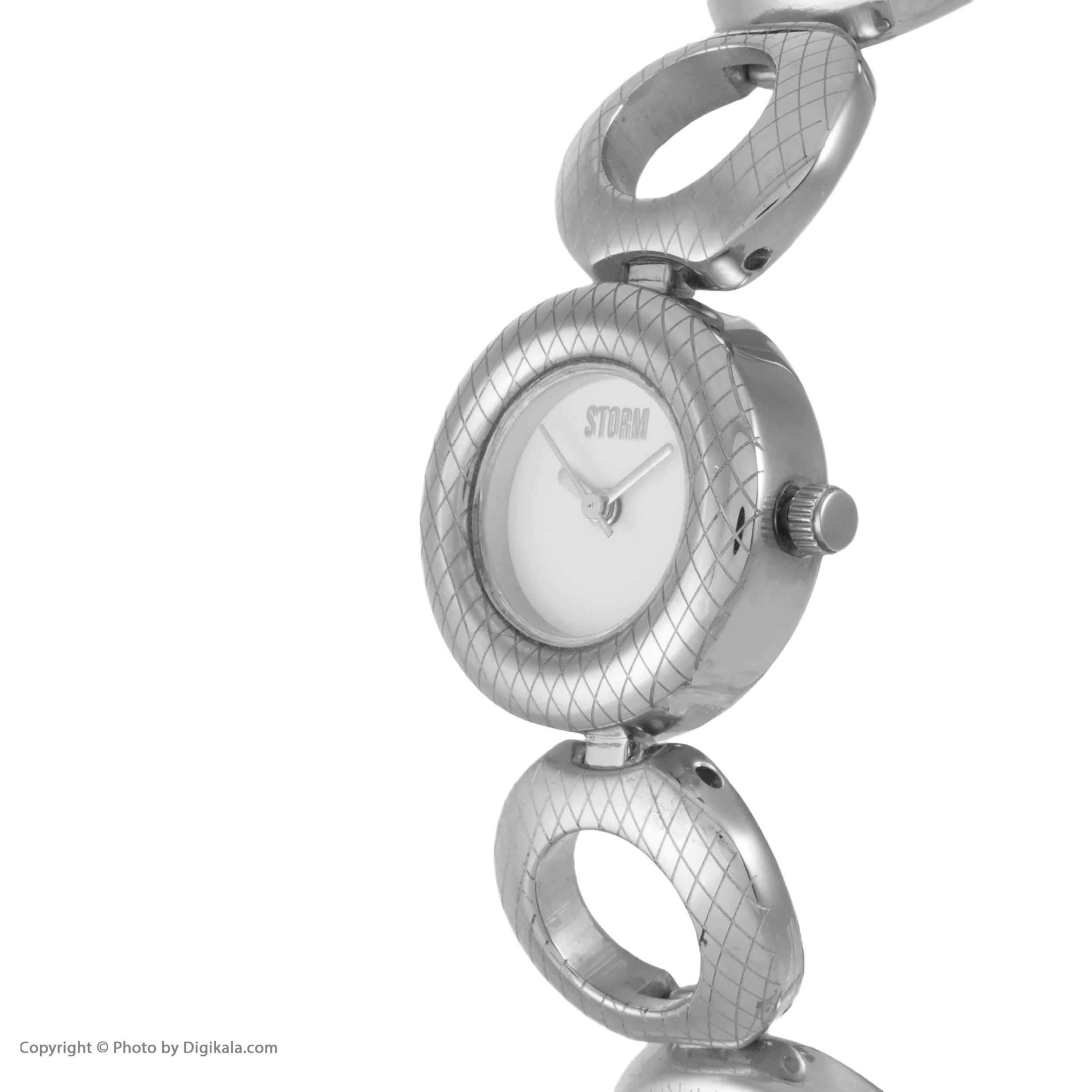 ساعت مچی عقربه ای زنانه استورم مدل ST 47124-S -  - 4