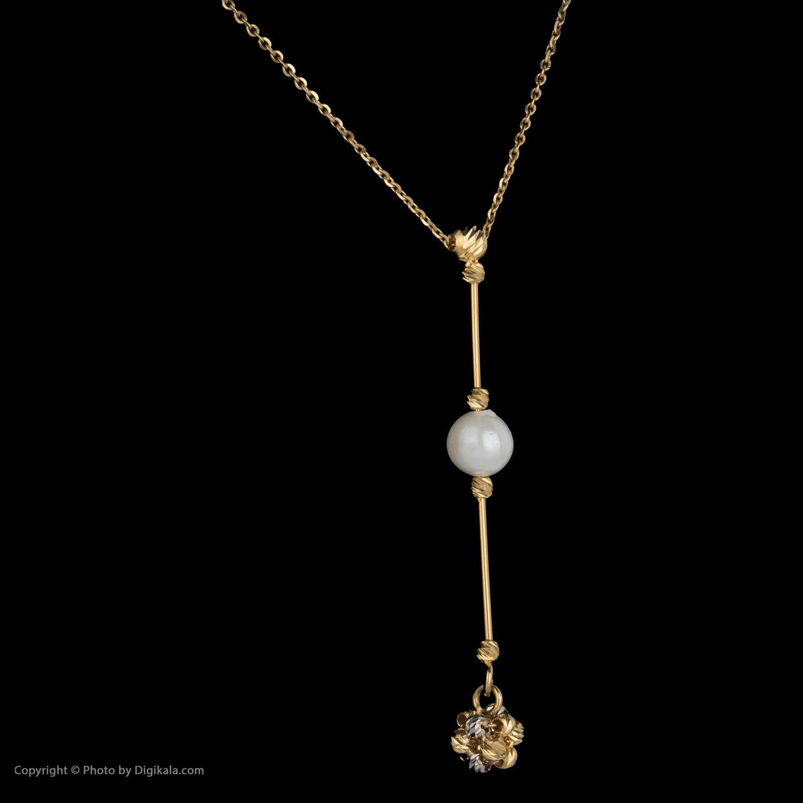 گردنبند طلا 18 عیار زنانه سیودو مدل 144604 -  - 4