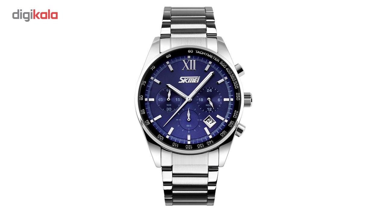 ساعت مچی عقربه ای مردانه اسکمی مدل S9096/Blue