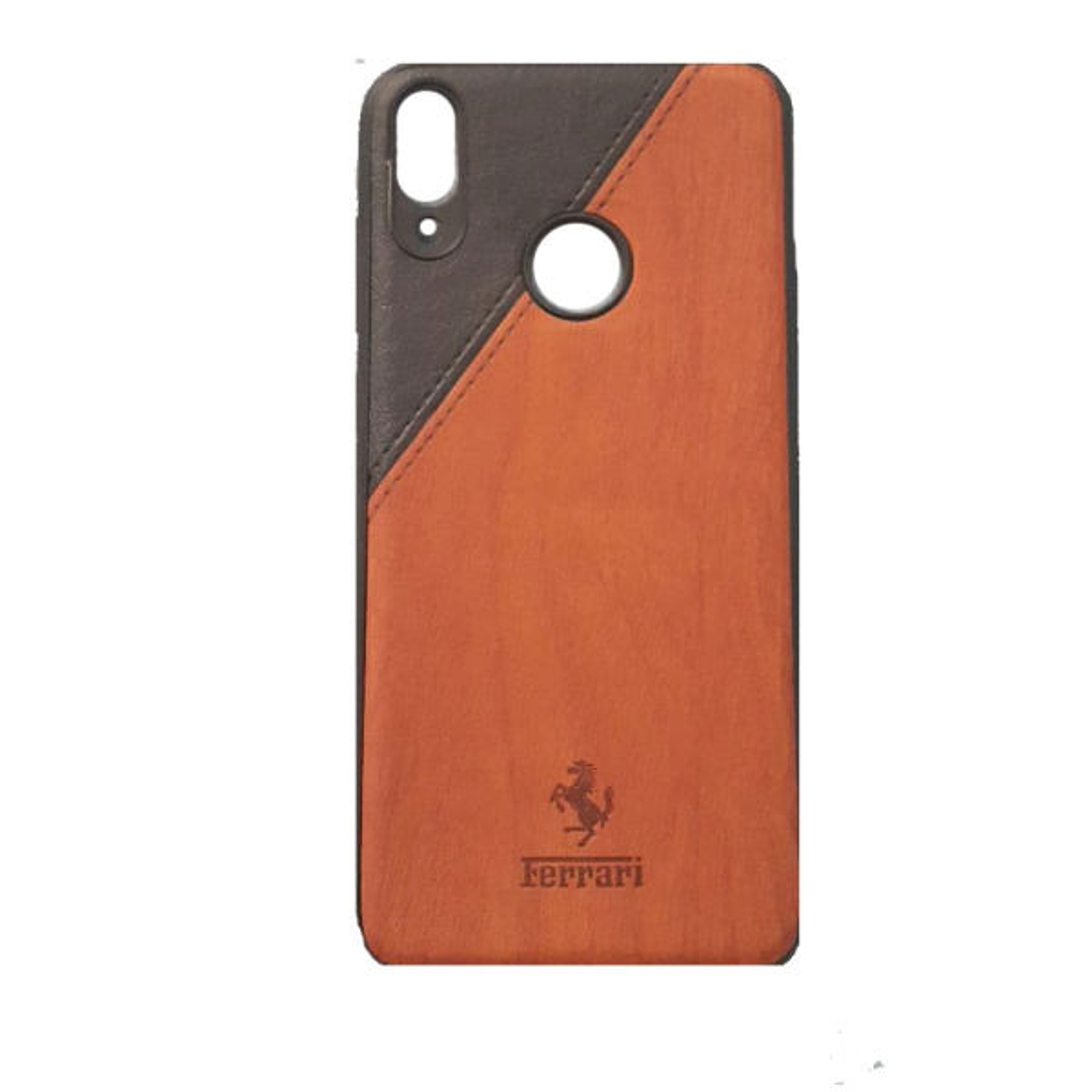 کاور طرح چرمی مدل A601 مناسب برای گوشی موبایل هوآوی Y7 Prime 2019