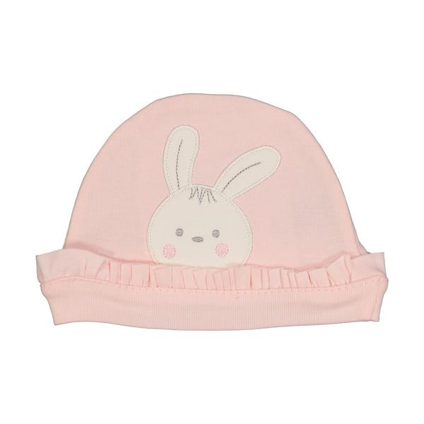 کلاه نوزادی دخترانه فیورلا کد 40007