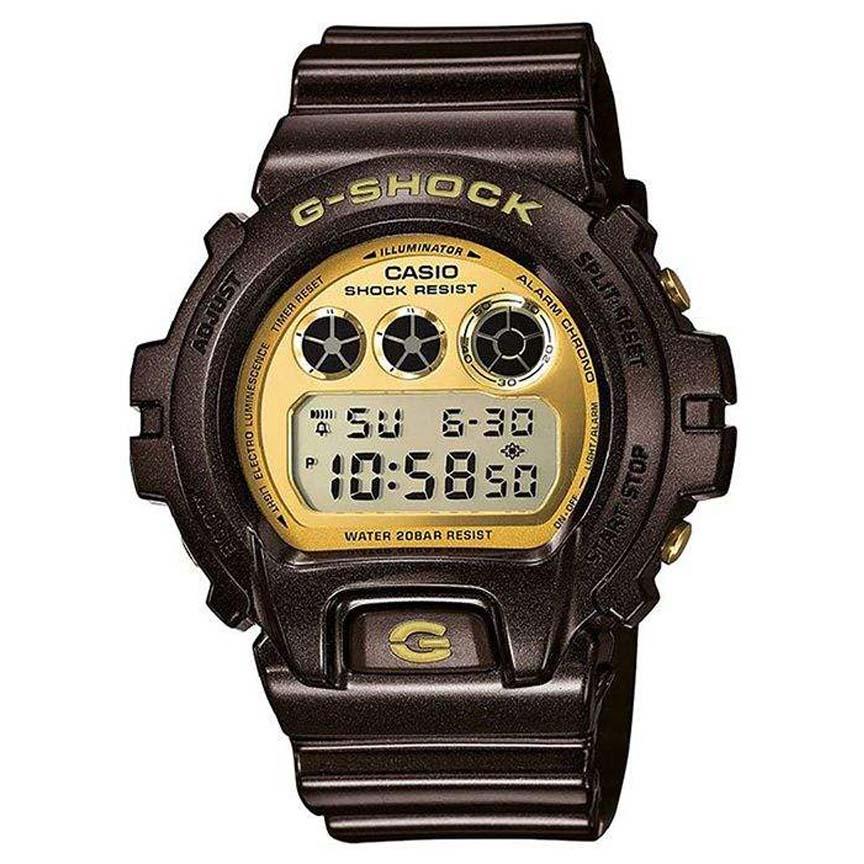 ساعت مچی دیجیتال مردانه کاسیو مدل جی شاک کد DW-6900BR-5              👙