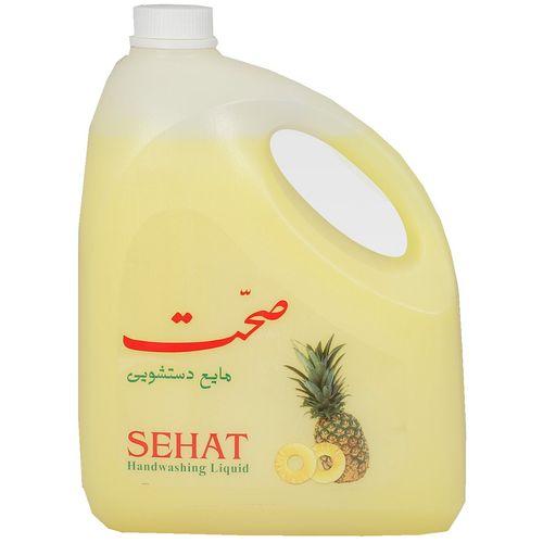 مایع دستشویی صحت مدل Pineapple مقدار 4000 گرم