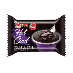کیک هات کول شکلاتی درنا - 70 گرم