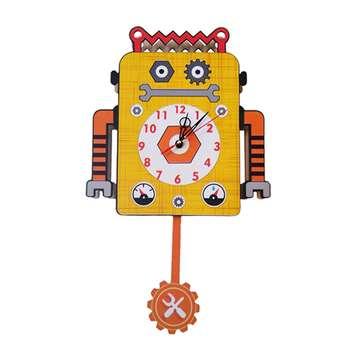 ساعت دیواری کودک جیک جیک مدل ربات