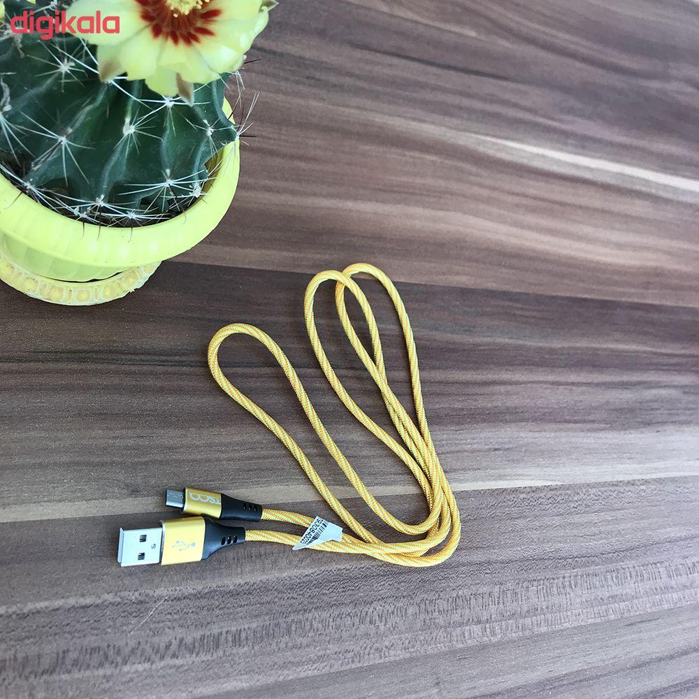 کابل تبدیل USB به microUSB تسکو مدل TC A93 طول 1 متر  main 1 6