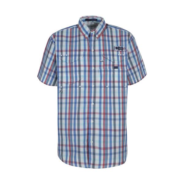 پیراهن آستین کوتاه مردانه کلمبیا مدل fm7272-480