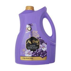 مایع دستشویی اکتیو مدل Floral Templation وزن 3750 گرم