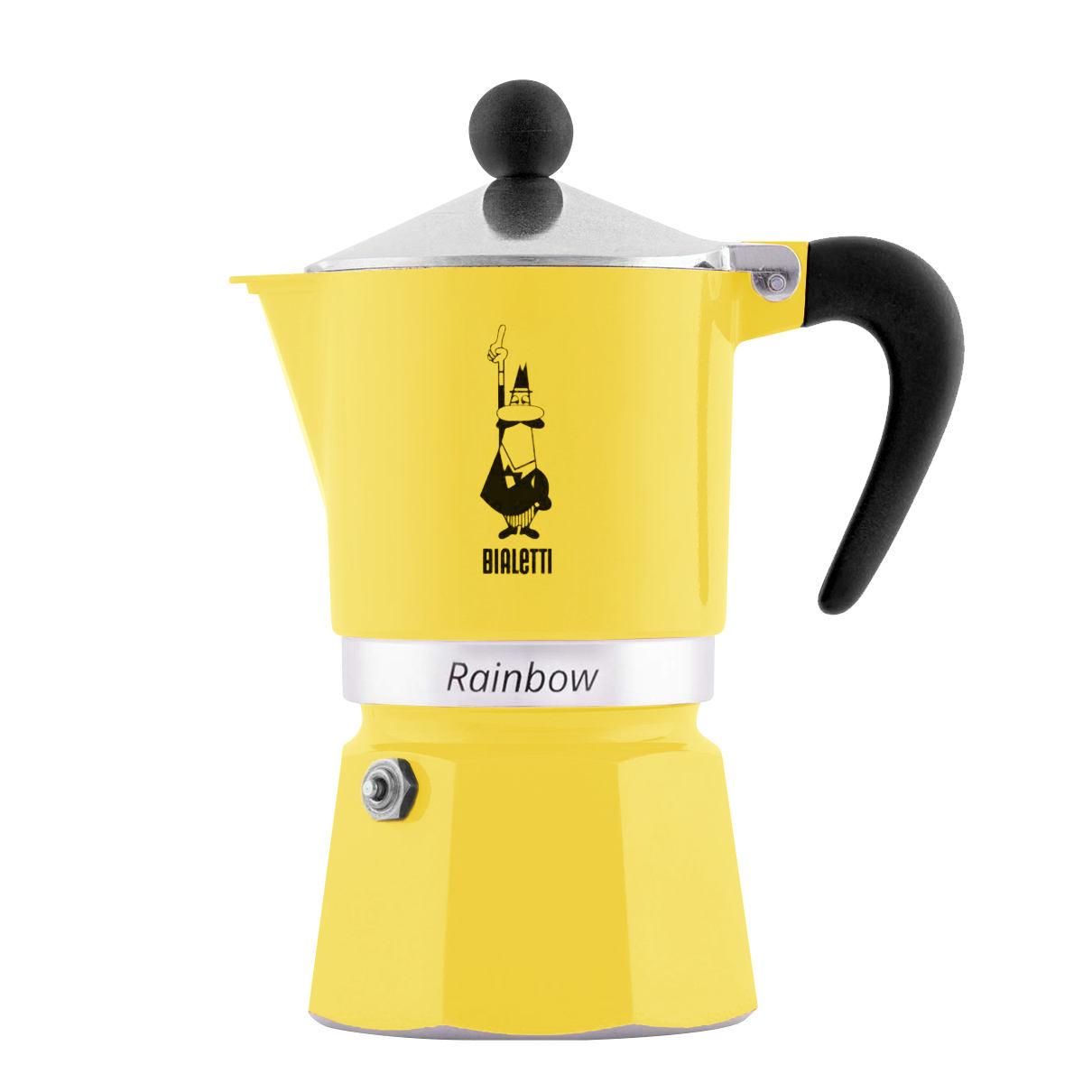 قهوه ساز بیالتی مدل رینبو 3Cups کد 4982