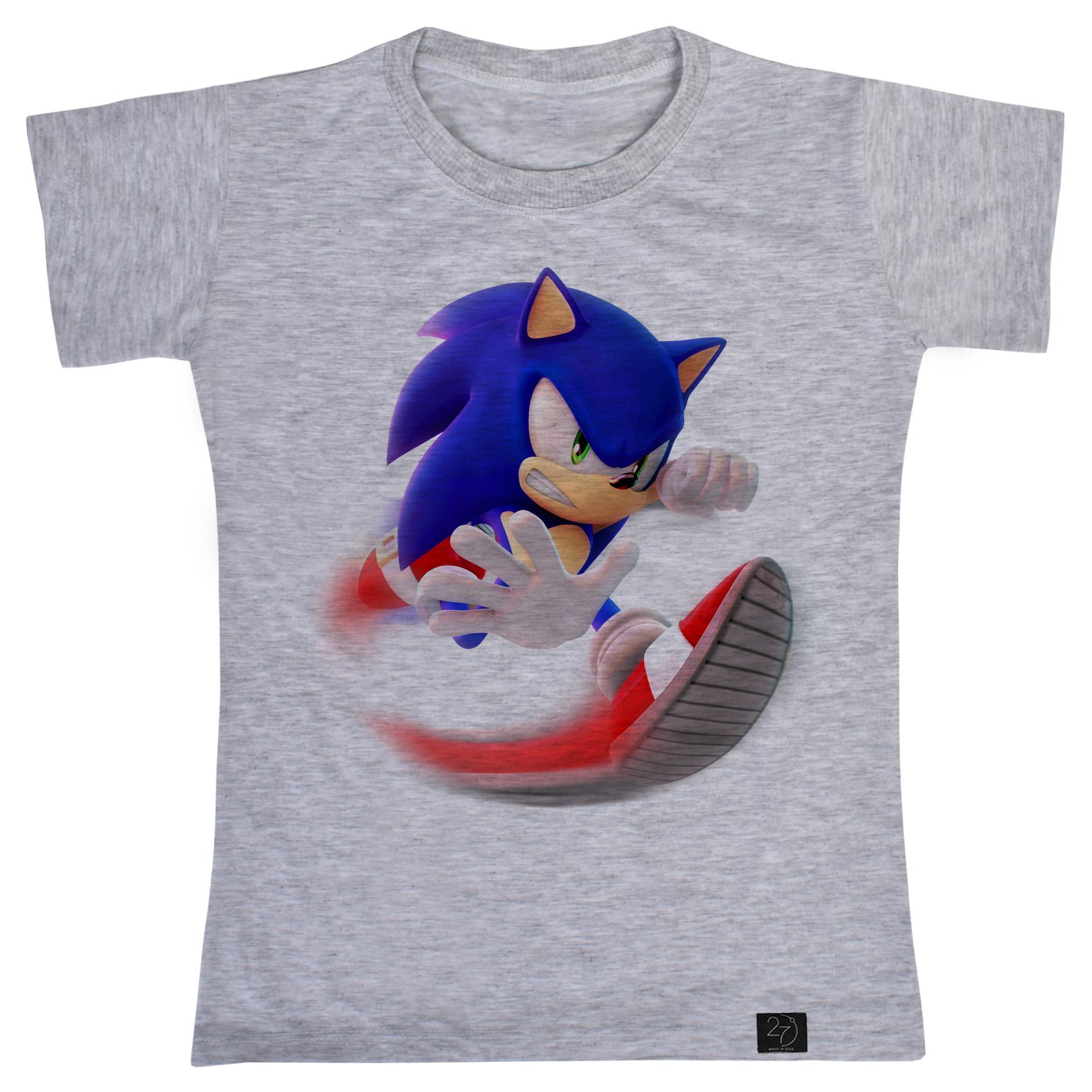 تی شرت پسرانه 27 مدل سونیک کد J57