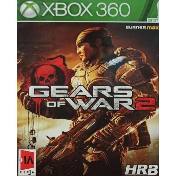 بررسی و {خرید با تخفیف}                                     بازی GEARS OF WAR 2 مخصوص XBOX 360                             اصل