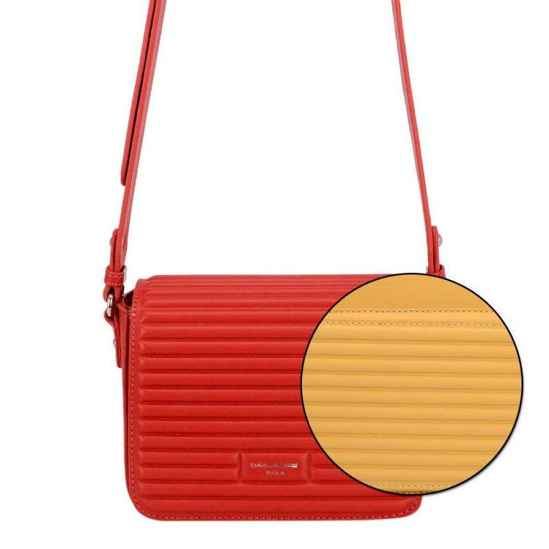 کیف رو دوشی زنانه دیوید جونز مدل 6275-1  -  - 5