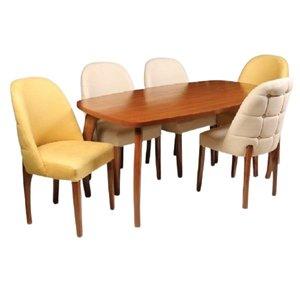 میز و صندلی ناهار خوری 6 نفره کد 343