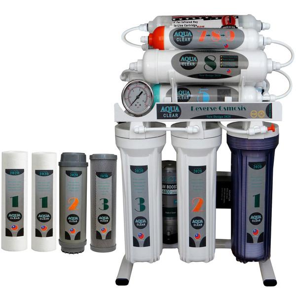 دستگاه تصفیه کننده آب آکوآ کلیر مدل NEW DESIGN 2020 - AUN10 به همراه فیلتر مجموعه 4 عددی