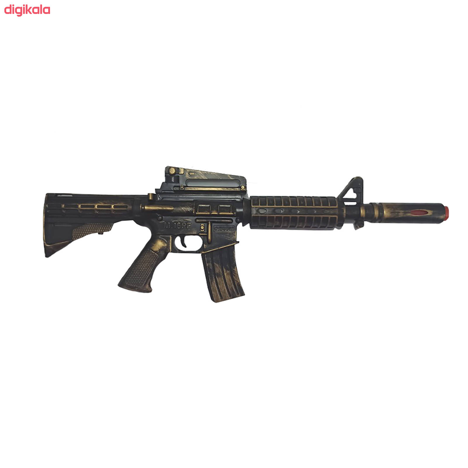 تفنگ بازی گلدن گان مدل naabsell-p10 مجموعه 3 عددی main 1 2